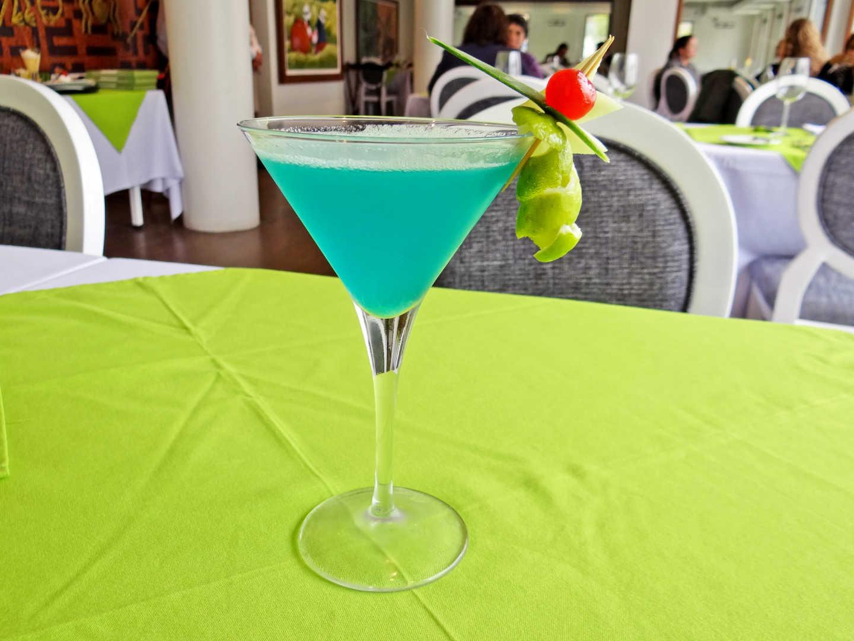 Martini Blue
